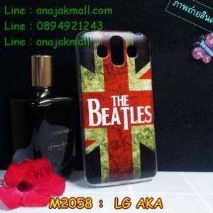 M2058-05 เคสยาง LG AKA ลาย The Beatles