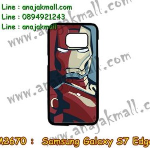 M2670-09 เคสแข็ง Samsung Galaxy S7 Edge ลาย Iron Man III