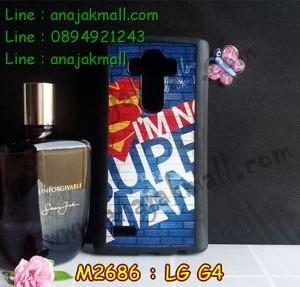 M2686-02 เคสขอบยาง LG G4 ลาย Super