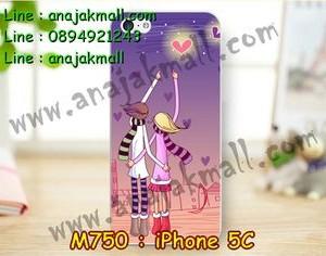 M750-19 เคสแข็ง iPhone 5C ลาย Forever