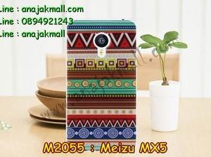 M2055-23 เคสยาง Meizu MX 5 ลาย Graphic II