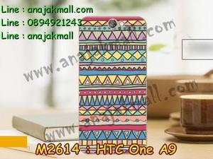 M2614-05 เคสแข็ง HTC One A9 ลาย Graphic IV