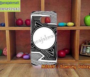 M2669-16 เคสแข็งขอบใส Samsung Galaxy S7 ลาย Superman I