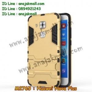 M2765-01 เคสโรบอท Huawei Nova Plus สีทอง