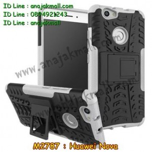 M2787-02 เคสทูโทน Huawei Nova สีขาว