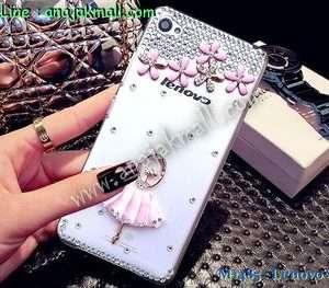 M1485-07 เคสประดับ Lenovo S90 Sisley ลาย Pink Ballet
