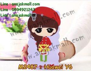M2487-04 เคสตัวการ์ตูน Huawei Y6 ลาย E