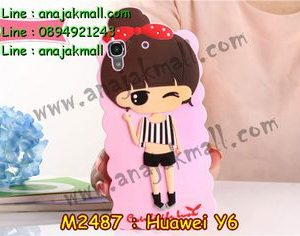 M2487-08 เคสตัวการ์ตูน Huawei Y6 ลาย Jaru C
