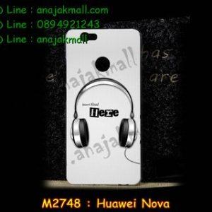 M2748-11 เคสแข็ง Huawei Nova ลาย Music