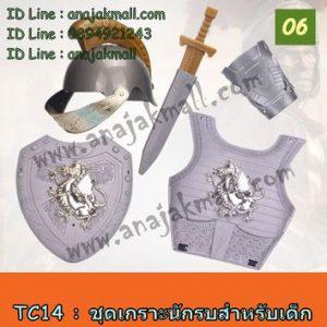 TC14-06 ชุดเกราะนักรบสำหรับเด็ก No.06