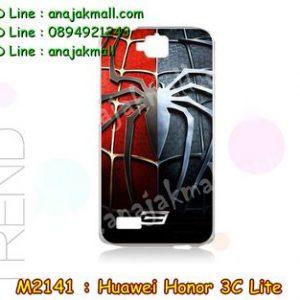 M2141-12 เคสแข็ง Huawei Honor 3C Lite ลาย Spider IV