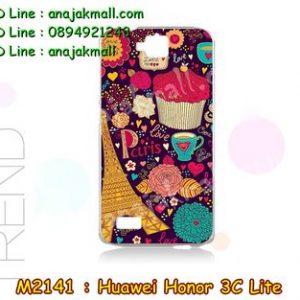 M2141-20 เคสแข็ง Huawei Honor 3C Lite ลาย Paris XI