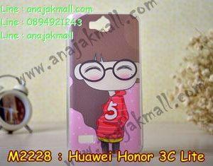 M2228-06 เคสยาง Huawei Honor 3C Lite ลายฟินนี่