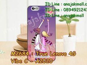 M2684-28 เคสยาง True Lenovo 4G Vibe C ลาย Forever II