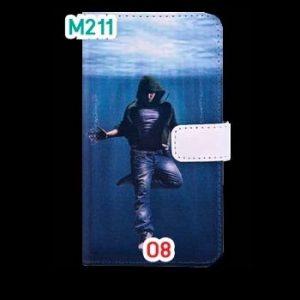M211-08 เคสฝาพับ OPPO Find Clover R815t ลายการ์ตูน + ฟิล์มกันรอยแบบใส