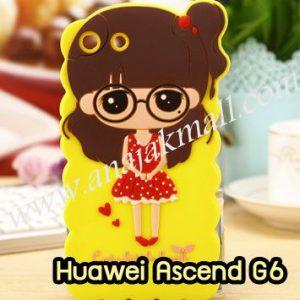 M1008-02 เคสตัวการ์ตูน Huawei Ascend G6 ลายหญิง II