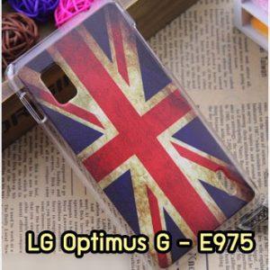 M1007-10 เคสแข็ง LG Optimus G - E975 ลาย Flag I