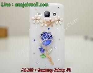 M1612-06 เคสประดับ Samsung Galaxy J1 ลาย Rose II