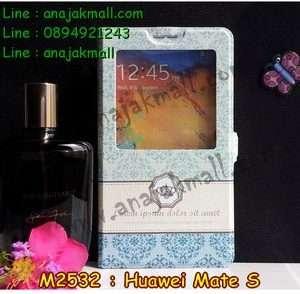 M2532-09 เคสโชว์เบอร์ Huawei Mate S ลาย Graphic I