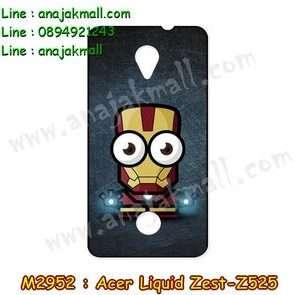 M2952-03 เคสยาง Acer Liquid Zest (Z525) ลาย Iron Man IV