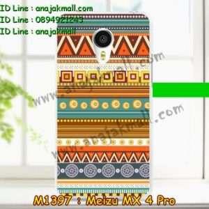 M1397-22 เคสยาง Meizu MX 4 Pro ลาย Graphic II