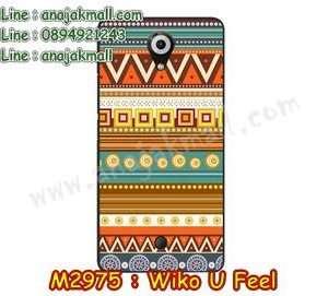 M2975-17 เคสยาง Wiko U Feel ลาย Graphic II