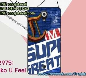 M2975-20 เคสยาง Wiko U Feel ลาย Super