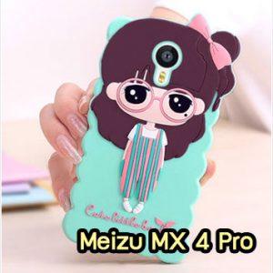 M1394-09 เคสตัวการ์ตูน Meizu MX 4 Pro ลายหญิงเอี๊ยมเขียว