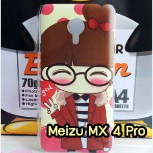 M1378-17 เคสแข็ง Meizu MX 4 Pro ลาย Hi Girl