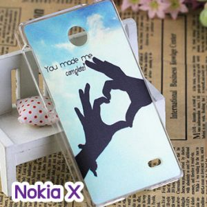 M748-07 เคสแข็ง Nokia X ลาย My Love