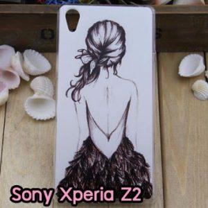 M796-02 เคสแข็ง Sony Xperia Z2 ลาย Women