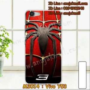 M3014-11 เคสแข็ง Vivo Y53 ลาย Spider