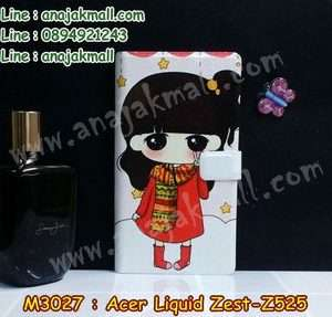 M3027-02 เคสฝาพับ Acer Liquid Zest (Z525) ลายฟินฟิน