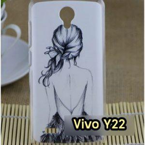 M1157-19 เคสแข็ง Vivo Y22 ลาย Women