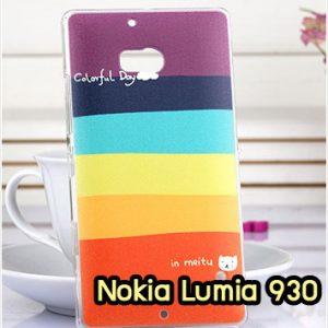 M952-01 เคสแข็ง Nokia Lumia 930 ลาย Colorfull Day