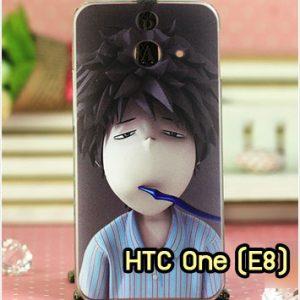 M1001-14 เคสแข็ง HTC One E8 ลาย Boy