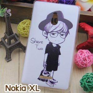M753-14 เคสแข็ง Nokia XL ลาย Share Two