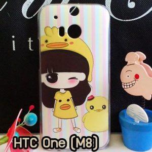 M764-09 เคสแข็ง HTC One M8 ลายรุกุโกะ