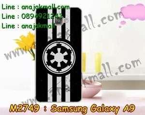 M2749-29 เคสแข็ง Samsung Galaxy A9 ลาย Black 01