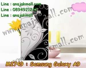 M2749-30 เคสแข็ง Samsung Galaxy A9 ลาย Black 02
