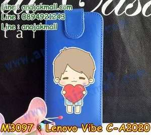 M3097-04 เคสฝาพับ True Lenovo 4G Vibe C ลาย Love Boy