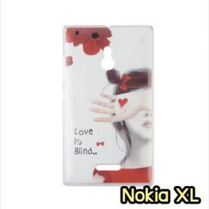 M753-21 เคสแข็ง Nokia XL ลาย Blind