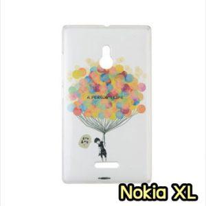 M753-24 เคสแข็ง Nokia XL ลาย Ballon
