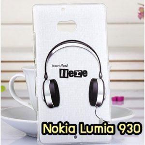M952-08 เคสแข็ง Nokia Lumia 930 ลาย Music