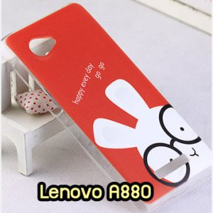 M1344-13 เคสแข็ง Lenovo A880 ลาย Red Rabbit