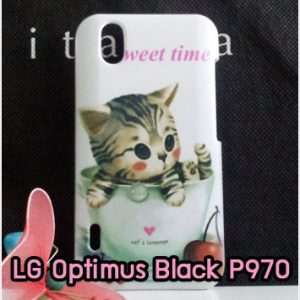M620-08 เคสมือถือ LG Optimus Black - P970 ลาย Sweet Time