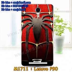 M1771-19 เคสยาง Lenovo P90 ลาย Spider