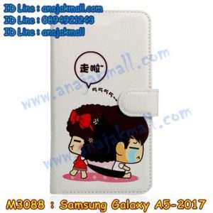 M3088-11 เคสฝาพับ Samsung Galaxy A5 (2017) ลาย MocMoc 2