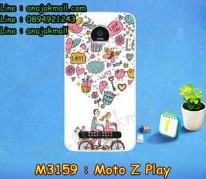 M3159-05 เคสแข็ง Moto Z Play ลาย Pink Love