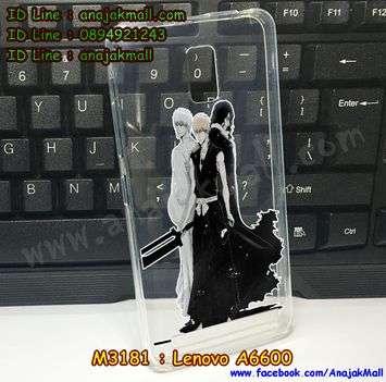 M3181-01 เคสยาง Lenovo A6600 ลาย Bleach 02